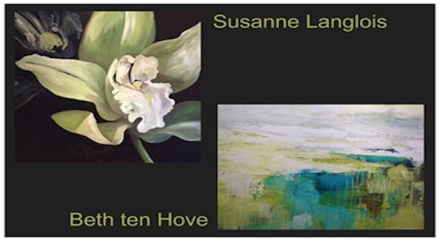 Art Show by Beth ten Hove and Susanne Langlois