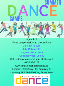 Sumer Dance Camps for Children