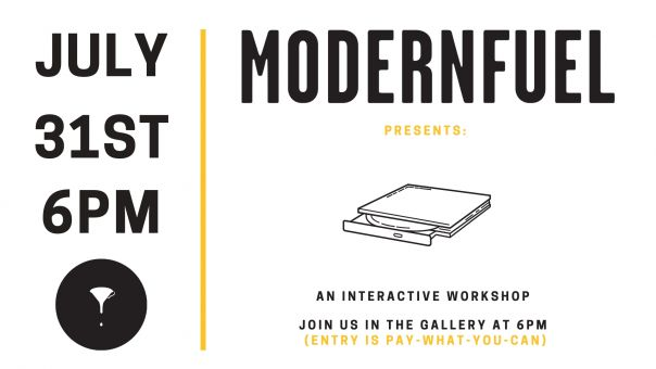 Interactive workshop Audacity event imagery Modern Fuel