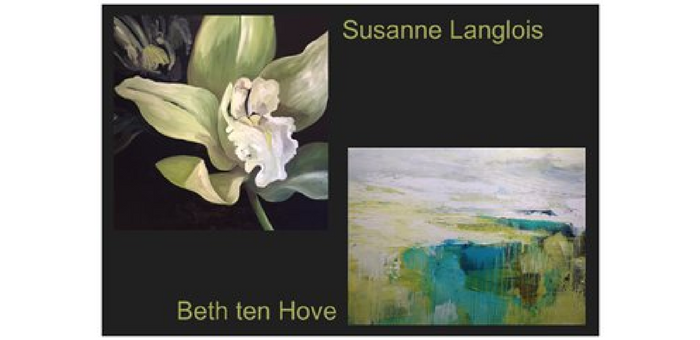 flowers and landscape  paintings
