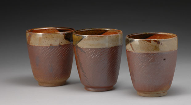 Final products from the Kingston Potters' Guild