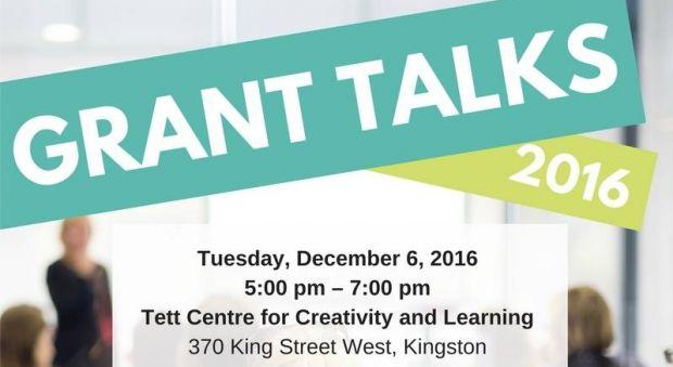 Kingston Arts Council presents GRANT TALKS 2016 | The Tett