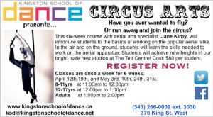 Circus Arts with Kingston School of Dance