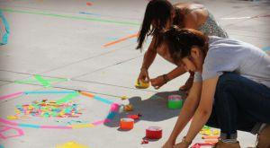 kids having fun with drawing