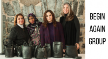 Carolyn Butts and the refugee women of the Begin Again Group