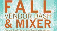Fall Vendor Bash & Mixer