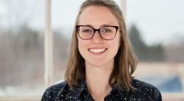The Tett Centre Programming and Communication Coordinator, Brianne Franklin